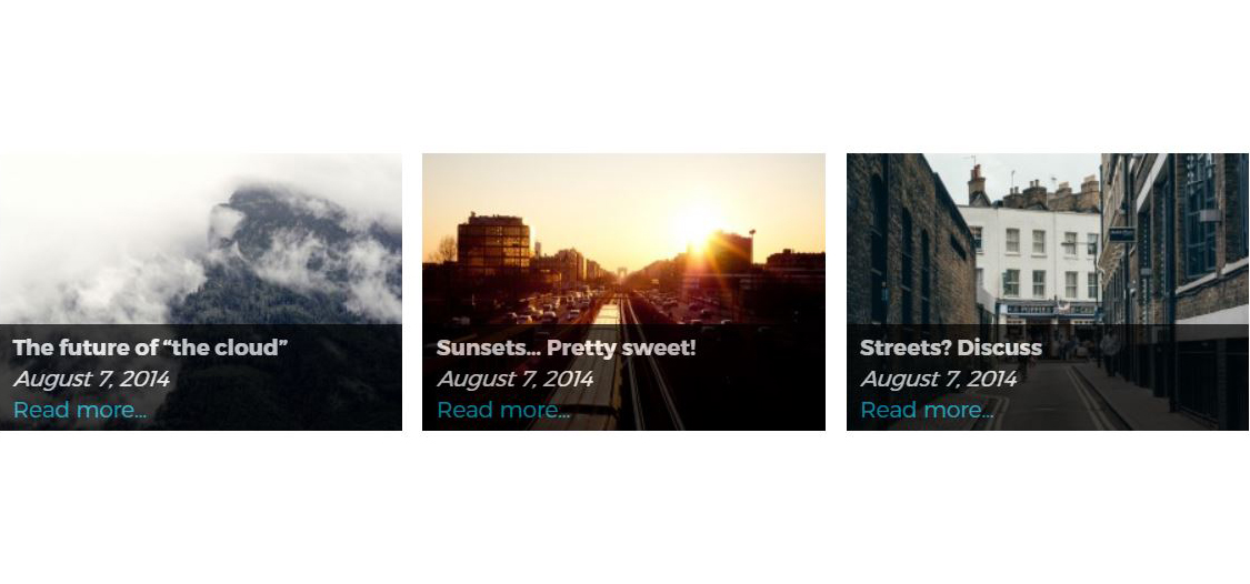 Image slide