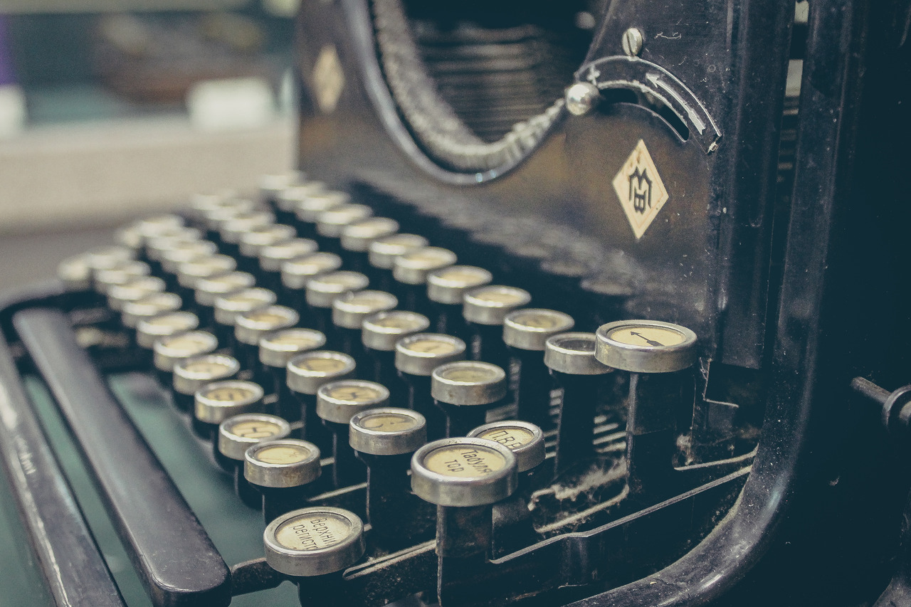 Are typewriters the new laptops?