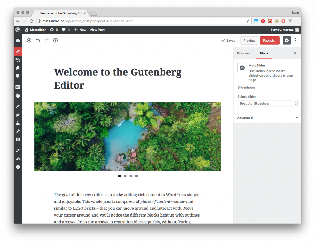 Gutenberg: why it's your friend and how we're getting ready